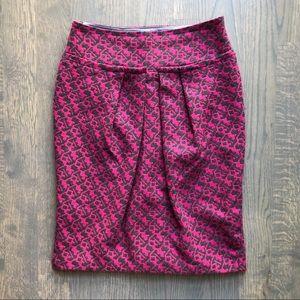 Eva Franco (Anthropologie) Geometric Wool Skirt